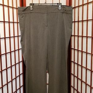 20 R dark gray Maurices's dress slacks
